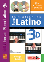 Initiation au piano latino en 3D
